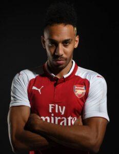 Arsenal striker Pierre-Emerick Aubameyang scored his 50th EPL goal against Norwich