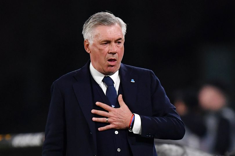 Former Napoli Manager Carlo Ancelotti. Image: Stuart Franklin/Getty Images