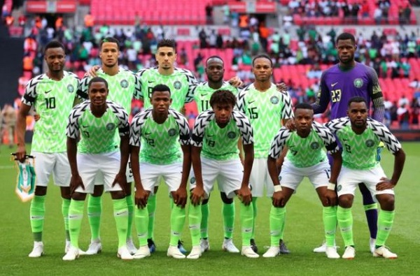 29th placed Nigeria National Football team. Image: Getty Images