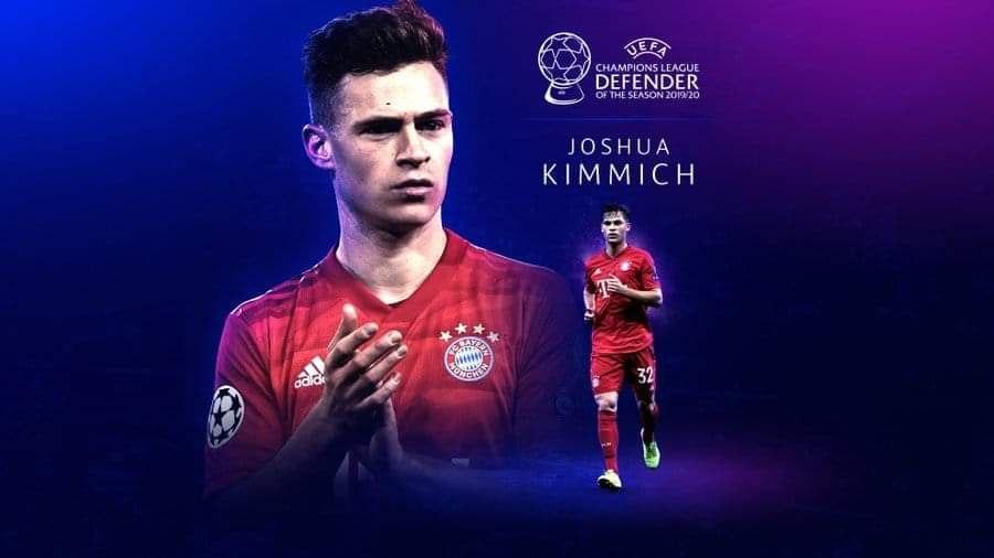 Joshua Kimmich wins UEFA Men's Best defender award