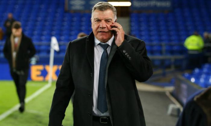 West Brom manager Sam Allardyce on a phone call. (Image Credits: Getty Images)