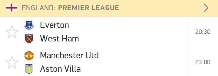 Premier League friday fixtures
